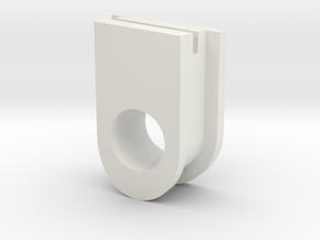 Koppelingsblokje Tomos 2 in White Natural Versatile Plastic