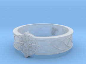 Ring of Mara Size 7 in Smooth Fine Detail Plastic