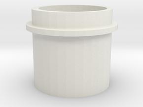 Spring Follower for Tiberius Mag Extender in White Natural Versatile Plastic