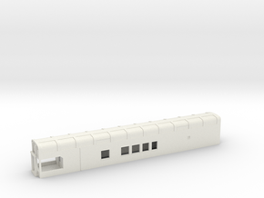 N Scale Rocky Mountaineer B Series 9'1 Platform in White Natural Versatile Plastic