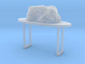 Chair Egg Cave in Smooth Fine Detail Plastic