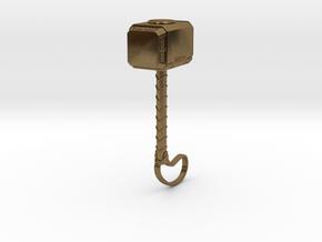 ACC-12-Hammer  6-7inch in Natural Bronze
