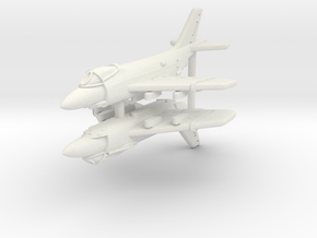 1/600 F3H Demon (x2; WSF)* in White Strong & Flexible