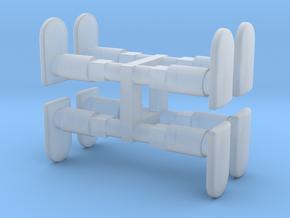 Buffers Minitrix 1200 loc. in Smooth Fine Detail Plastic