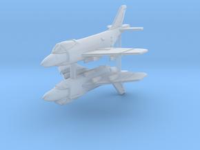 1/350 F3H Demon (x2) in Smooth Fine Detail Plastic