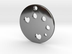 Love Disk v1 in Premium Silver