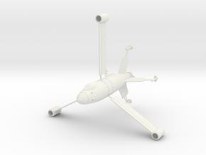 PV25 Treibflugel (28mm) in White Strong & Flexible