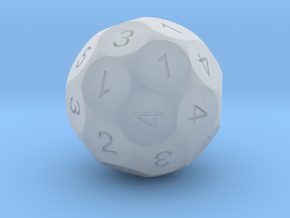 D32-5D2 Sphere Dice in Smooth Fine Detail Plastic