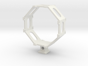 Shock mount H1 in White Natural Versatile Plastic