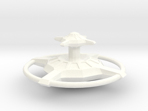 Federation Station B-30 in White Strong & Flexible Polished