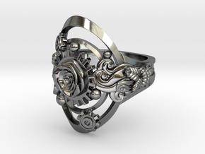 Botanika Mechanicum Ring SIZE 10 in Premium Silver