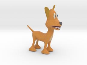 Doggy 10cm in Full Color Sandstone
