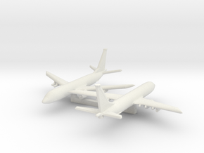 1/700 Boeing P-8 Poseidon in White Strong & Flexible