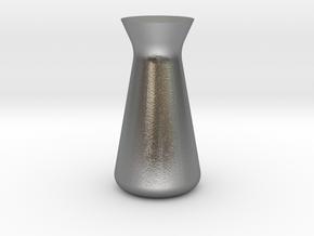 Designer Vase (Mini) in Natural Silver