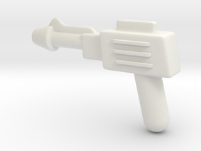 MOTU replacement pistol for Castle Grayskull in White Natural Versatile Plastic
