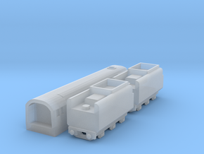 T-gauge Merchant Navy class - Uses Eishindo Wheels in Smooth Fine Detail Plastic