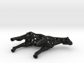 Horse in Black Natural Versatile Plastic