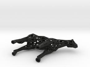 Horse in Black Natural Versatile Plastic