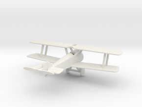 1/144 Sopwith Camel in White Strong & Flexible