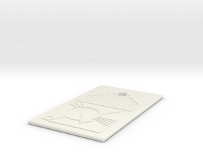 PeaceKeeper IdentChip in White Natural Versatile Plastic