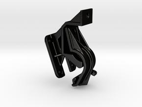 ZUMO 340 / 350 / 390  Adapter Multistrada in Matte Black Steel