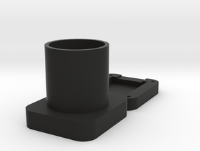 Camera Adapter in Black Natural Versatile Plastic