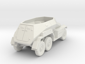1/100 (15mm) SdKFz 247 ausf A in White Natural Versatile Plastic
