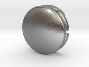 CM-BASICDOME1.25 in Natural Silver
