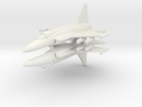 1/285 JF-17 Thunder (x2) in White Natural Versatile Plastic