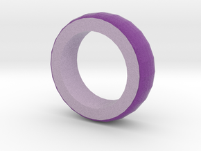 Violet And Lilac Bracelet 2 in Full Color Sandstone
