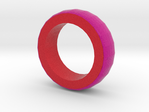 Pink And Red Bracelet 2 in Full Color Sandstone