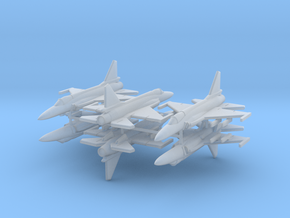 1/600 JF-17 Thunder (x6; FUD)* in Smooth Fine Detail Plastic