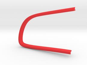 Contour bouton gauche A6 in Red Processed Versatile Plastic