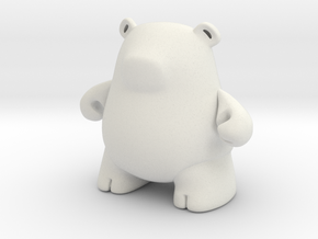 Iggly in White Natural Versatile Plastic