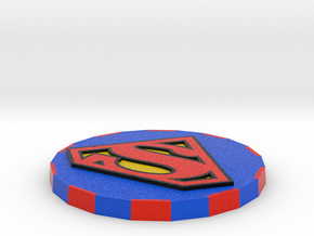 Superman Card Cover  in Full Color Sandstone
