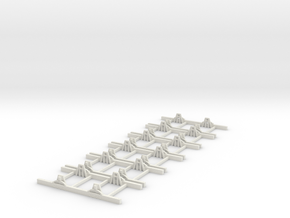 Sn2 Underframe 5ft wb x6 in White Natural Versatile Plastic