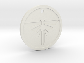 The Last of Us: Firefly pendant (Joe Warren) in White Natural Versatile Plastic