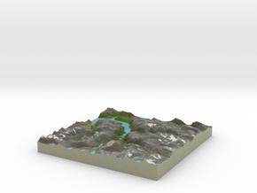 Terrafab generated model Thu Feb 13 2014 01:08:45  in Full Color Sandstone