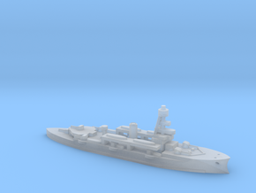 Niels Juel ship in 1/1800 scale in Smooth Fine Detail Plastic