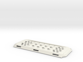 Recovery Board For your R/C Scaler in White Natural Versatile Plastic
