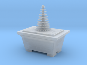 Bonsai Pine Tree Plant Model  in Smooth Fine Detail Plastic