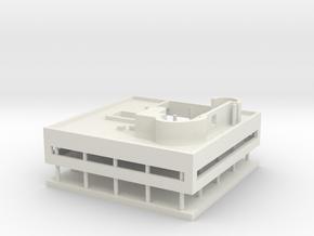 Villa Savoye in White Natural Versatile Plastic