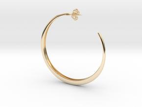 Hoop Earring in 14K Yellow Gold