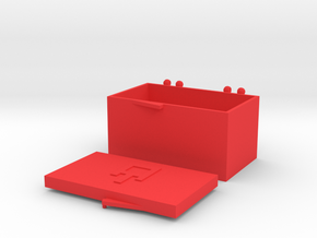 AT - HS1 Cartridge Headshell Case in Red Processed Versatile Plastic