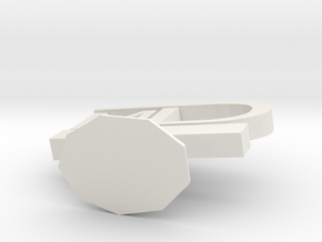 Award in White Natural Versatile Plastic