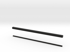 thin bars 1mm and 2mm in Black Strong & Flexible