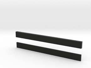 thin bars 5mm width in Black Strong & Flexible