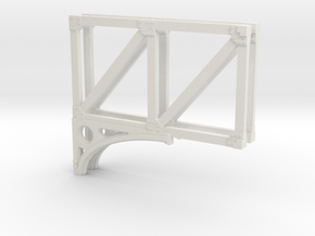 T1 33 Truss in White Natural Versatile Plastic