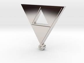 triforce pendant in Platinum