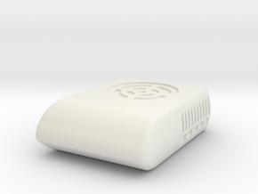 1/64th Scale Air Conditioner unit for trucks, RV's in White Natural Versatile Plastic